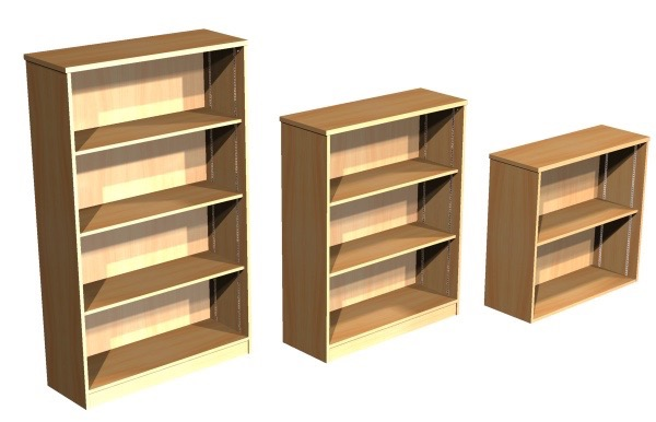 Open Front Bookcases Lagan Contract Furniture Belfast